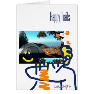 Cartes Traînées heureuses