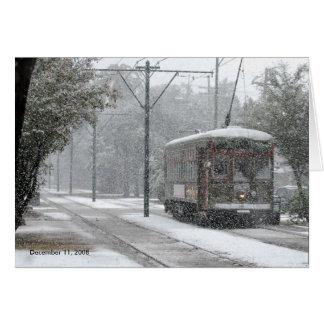 Cartes Tramway la Nouvelle-Orléans, le 11 décembre 2008