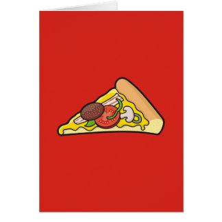 Cartes Tranche de pizza