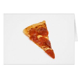 Cartes Tranche de pizza de pepperoni