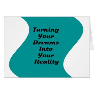 Cartes Transformation de vos rêves en votre réalité