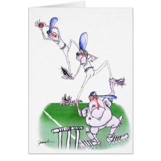 Cartes travail d'équipe - cricket, fernandes élégants