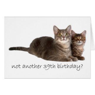 Cartes trente-neuvième anniversaire