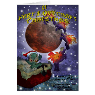Cartes Très Noël de Lovecraft