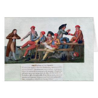 Cartes Tribunal de prison de 2 et le 3 septembre 1792