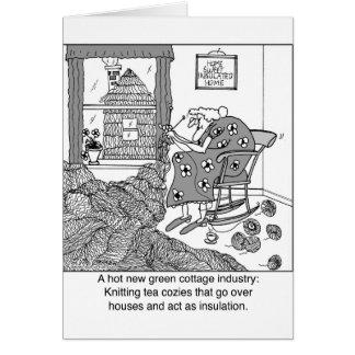 Cartes Tricotant, une industrie familiale verte