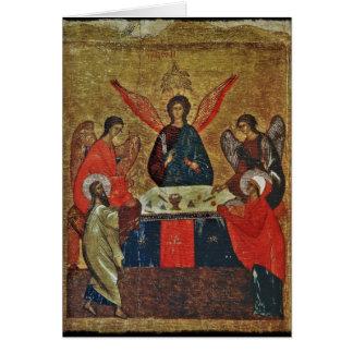 Cartes Trinité avec les saints