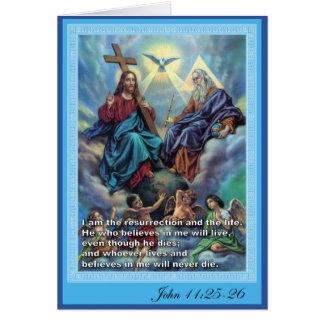 Cartes Trinité sainte