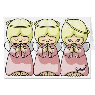 Cartes Trio d'ange
