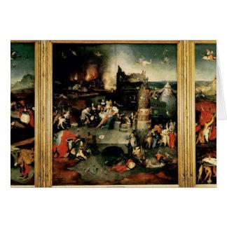 Cartes Triptyque : La tentation de St Anthony