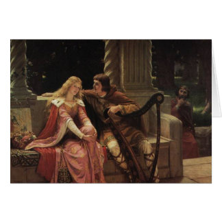 Cartes Tristan et Isolde, Edmund Blair Leighton, 1902