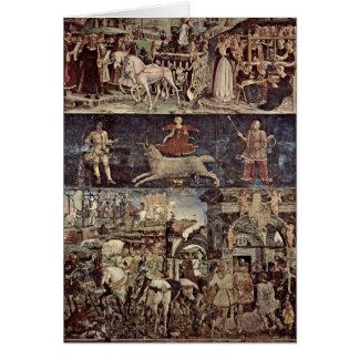 Cartes Triumph de Minerva par Francesco del Cossa