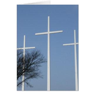 Cartes Trois croix