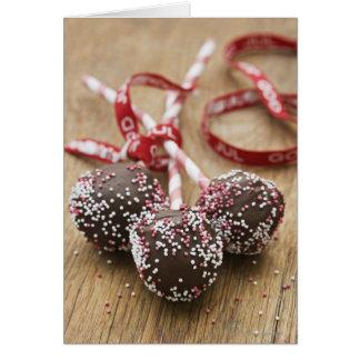 Cartes Trois lucettes de chocolat
