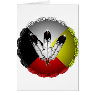 Cartes Trois plumes