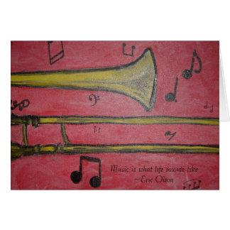 Cartes trombone