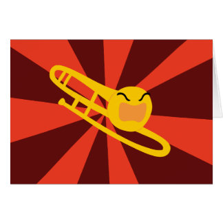Cartes Trombone faisant rage