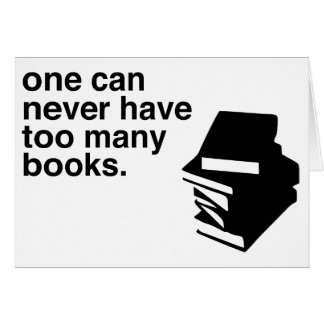 Cartes trop de livres