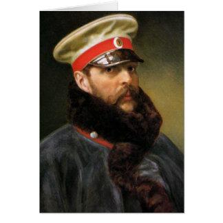 Cartes Tsar russe Alexandre II