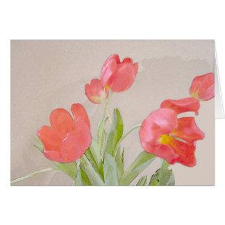Cartes Tulipe d'hiver