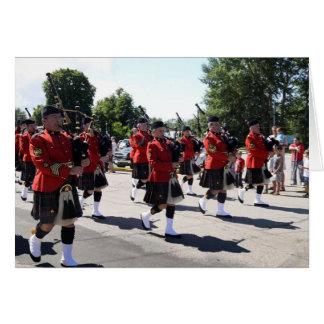 """Cartes Tuyaux et tambours de Division de RCMP """"H"""""""
