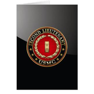 Cartes U.S. Marines : Deuxième lieutenant (usmc 2ndLt)