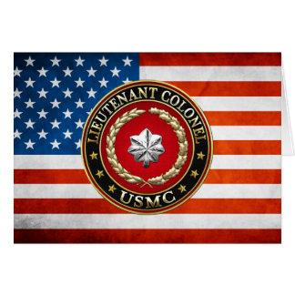 Cartes U.S. Marines : Lieutenant-colonel (usmc LtCol)