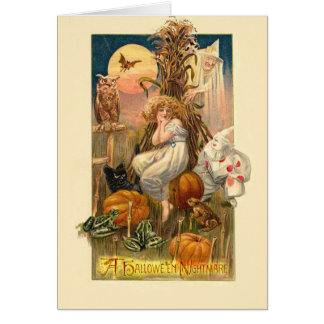 Cartes Un cauchemar de Hallowe'en