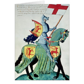 Cartes Un chevalier portant les bras de Vérone