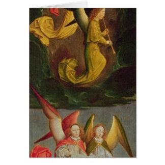 Cartes Un choeur des anges, 1459