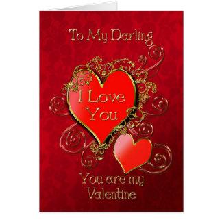 Cartes Un coeur à donner pour montrer votre amour pour
