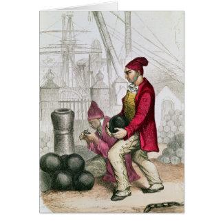 Cartes Un Convict dans la colonie pénale de Toulon