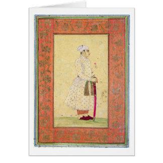 Cartes Un jeune noble de la cour de Mughal, du Lar