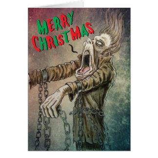 Cartes Un joyeux chant de Noël de fantôme de Jacob Marley