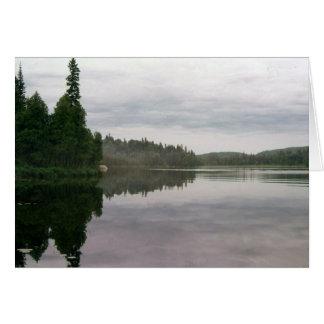 Cartes Un lac tranquille