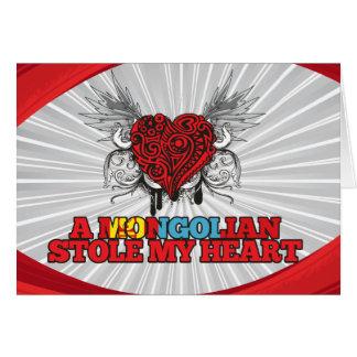 Cartes Un Mongolian a volé mon coeur
