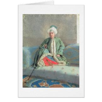 Cartes Un monsieur assis sur un divan