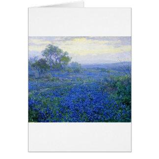 Cartes Un-nuageux-jour-bluebonnets de Robert Julian