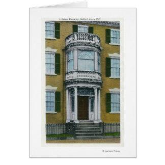 Cartes Un porche de Safford, une porte de Salem