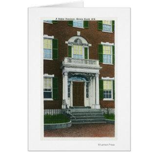 Cartes Un porche de Shreve, vue de porte de Salem