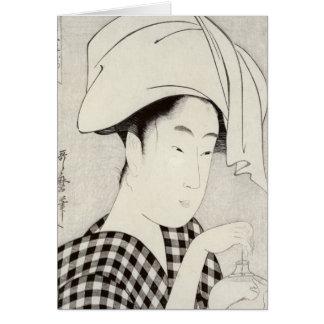Cartes Un salon de thé dans Ryogoku
