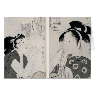 Cartes Une femme impertinente, oya de Kyokun de série