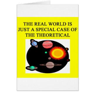 Cartes Une grande conception de physique