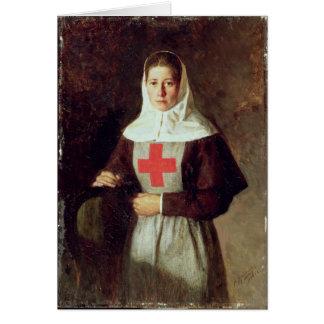 Cartes Une infirmière, 1886