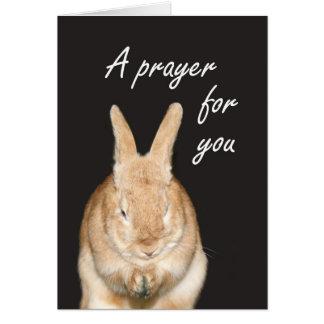 Cartes Une prière pour vous