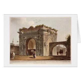 Cartes Une voûte triomphale de Tripoli dans Barbarie,
