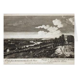Cartes Une vue de colline de Richmond en bas de la