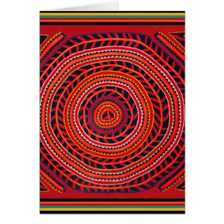 Cartes Universel Sun de tribal de Kuna