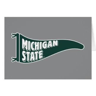 Cartes Université de l'Etat d'État du Michigan de MSU
