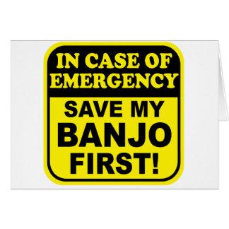 Cartes Urgence de banjo